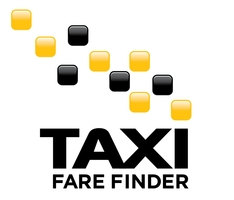 Taxi Fare Finder Logo 200 pixels