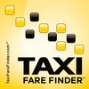 Taxi Fare Finder logo sticker 100 pixels