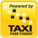 Taxi Fare Finder Powered By 130 pixels yellow box