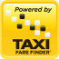 Taxi Fare Finder Powered By 65 pixels yellow box