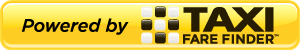 Taxi Fare Finder Powered By 300 pixels yellow