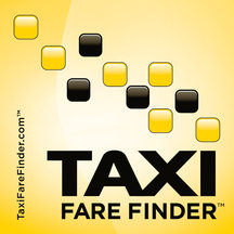 Taxi Fare Big Logo Sticker