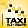 Taxi Fare Small Logo Sticker