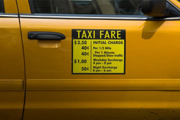 New Yprk City Flat Fare Zone