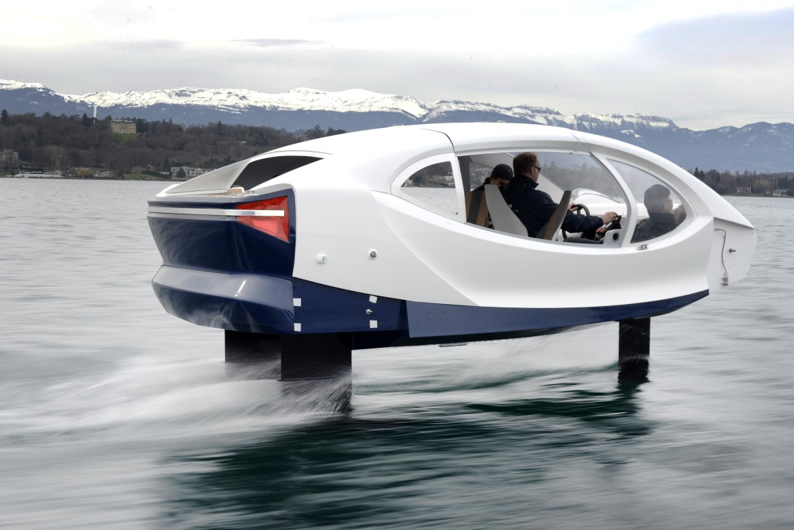 seabubble the flying water taxi