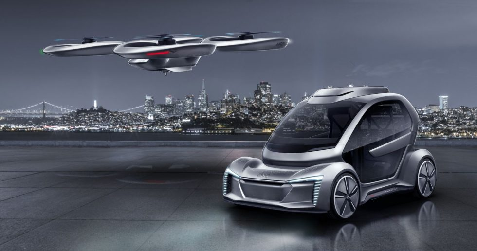 Audi Pop Up Flying Taxi