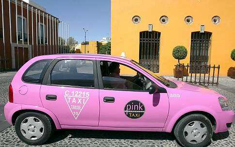 Mexico Pink Taxi